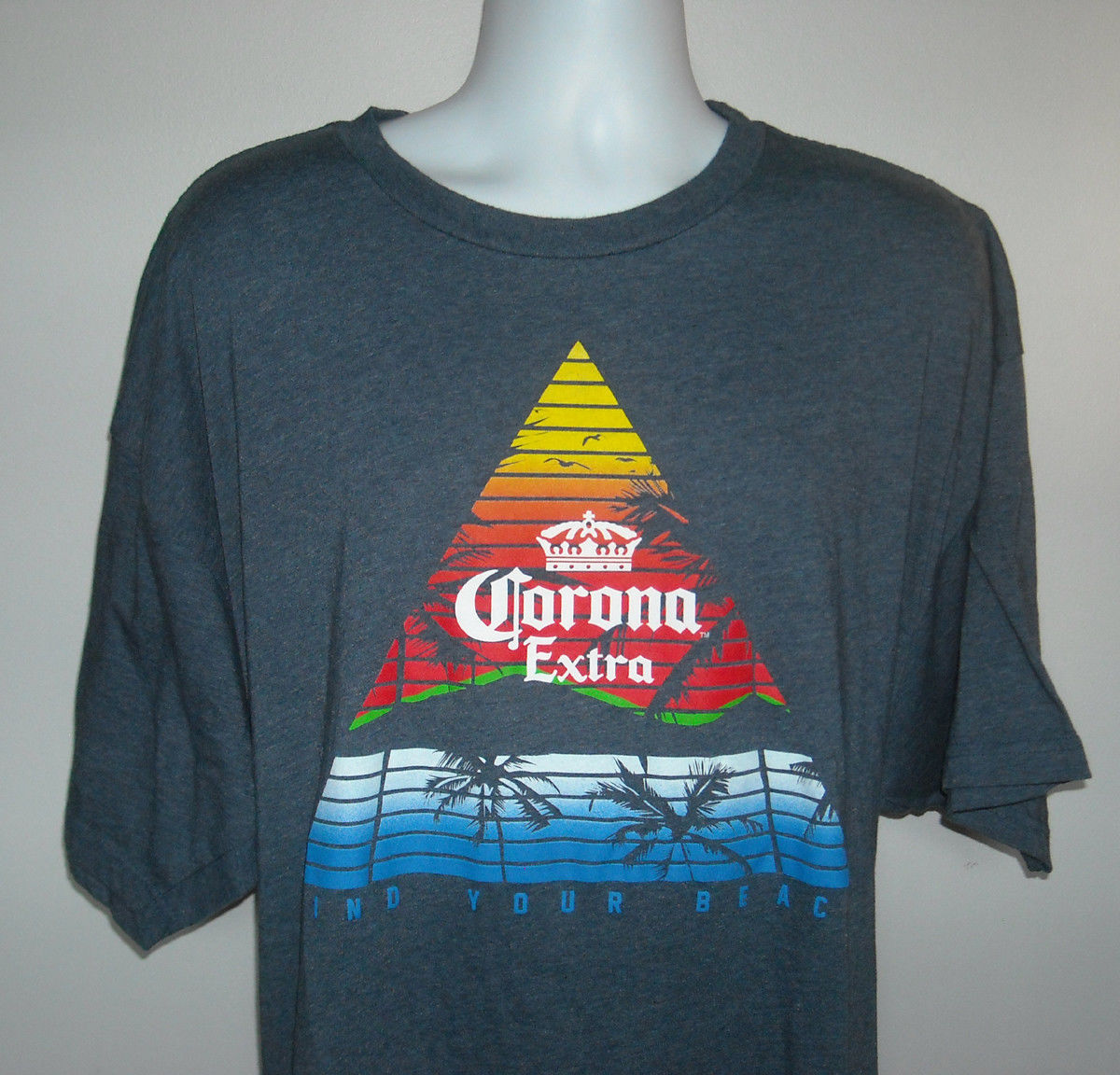 7b2fa9a87233f5 Mens Corona Extra Beer T Shirt 3XLT Palm and 48 similar items. S l1600