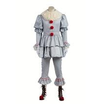 Stephen King's It Pennywise Cosplay Costume Fancy Halloween Terror Costume - $128.00