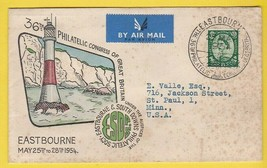 36TH PHILATELIC CONGRESS OF GREAT BRITAIN MAY 25 1954  - $1.98