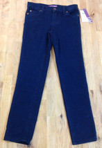 Aqua Girls Denim Stretch Pant, Indigo Blue,  Size 6X - $19.79