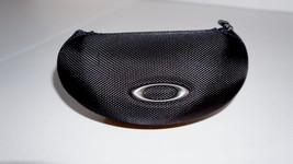 Oakley Sunglasses Hard Black Case with Carrying Pouch Case ONLY - $14.01