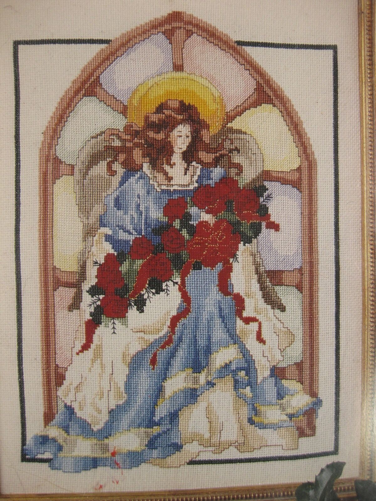 Primary image for Vintage Butterick Christmas Classics Angel Sealed Counted Cross Stitch Kit 9x12