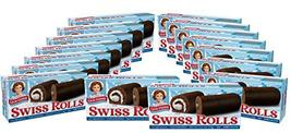 Little Debbie Swiss Rolls, 16 Boxes, 96 Twin-Wrapped Cake Rolls, Brown - $46.40
