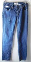 Baby Phat Women's Jeans Size 11 Straight Leg - 5 Pocket Medium Wash Low ... - $18.27