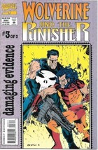 Wolverine and The Punisher Comic Book #3 Marvel Comics 1993 NEAR MINT NEW UNREAD - $3.99