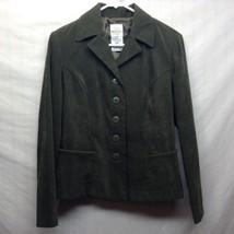 Bentley Forest Green Skirt Suit Sz 9/10