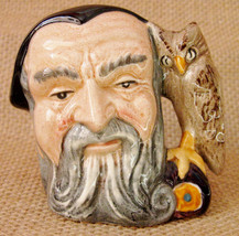 Merlin the Wizard Royal Doulton & Co. Limited Small Porcelain Toby Jug C... - $24.99