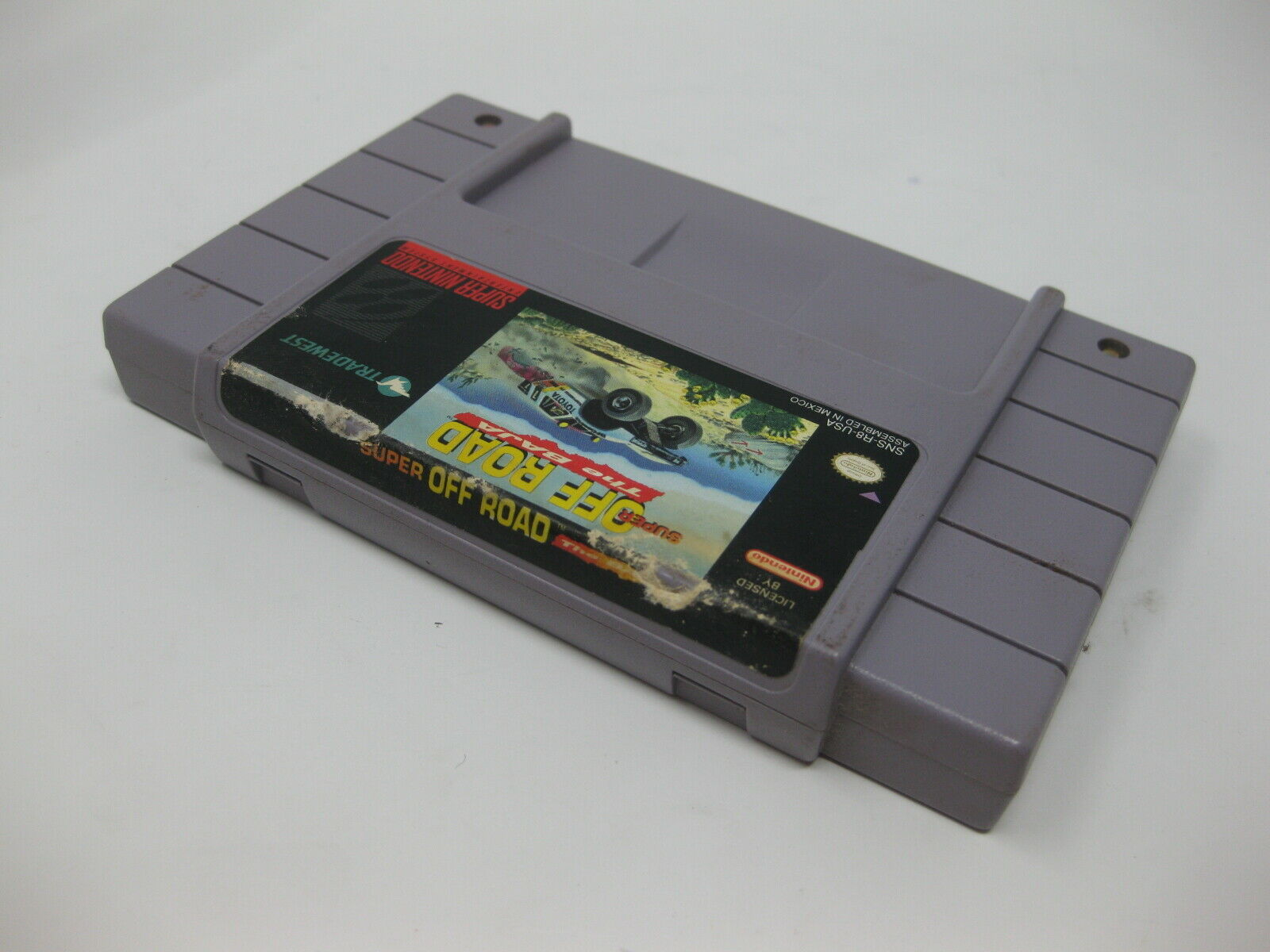 Super Off Road The Baja - SNES Game - Game Cart