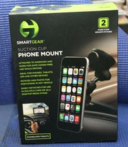 SmartGear Suction Cup Phone Mount STG-6204-JB PHONE/GPS/TABLETS - NEW IN... - $13.67