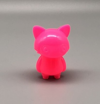 Max Toy Bright Pink Unpainted Mini Cat Girl image 1