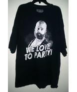Zach Galifianakis The Hangover Party T Shirt College Cotton Size 2X Big ... - $9.87