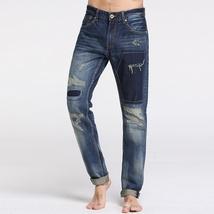 Sportsman fashion personality men's jeans image 4