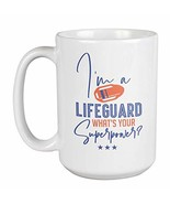 I'm a Lifeguard. What's Your Superpower? Lifesaver Coffee & Tea Gift Mug... - $22.53