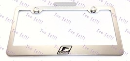 Lexus F Sport Logo Stainless Steel License Plate Frame Rust Free W/ Bolt Cap - $12.86