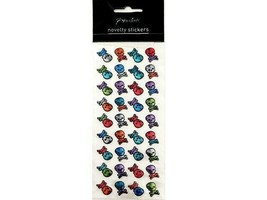 Paperchase Puffy Skull Stickers #9780816
