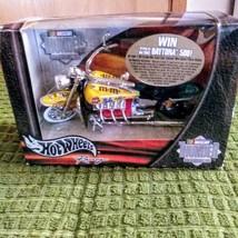 Hot Wheels Racing 2002 Mattel M&M's/55735 NASCAR #36 Ken Schrader Motorcycle Thu image 1