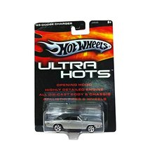 Hot Wheels Ultra Hots 1969 Dodge Charger 1:64 Scale Silver Diecast Repli... - $34.60