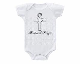 Shower Gift Onesie Answered Prayer Shirt - $15.00
