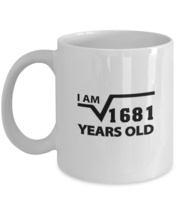 Novelty Birthday coffee tea mug - I Am 41 Years Old - Best Sarcastic Mug... - $14.95