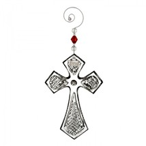 Waterford 2016 Annual Cross Christmas Ornament with Enhancer New # 40015630 - $71.53