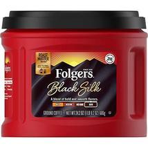 Folgers Black Silk, Dark Roast Ground Coffee, 24.2 oz - $24.74