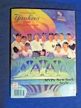 1986 New York Yankees Official MLB Yearbook Program MVPs New York Style ... - $5.99