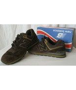 New Balance Men 10 M574BS Encap Sneakers Shoes Chocolate Brown - $59.39
