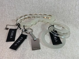 Furla Bubble Party Necklace + Bangles + Key Fob -  MADE IN ITALY - Retai... - $188.00