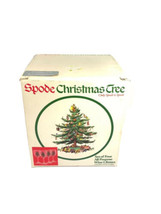"""Spode Christmas Tree Wine Glasses Set of Four in Box 7"""" All Purpose - $19.80"""