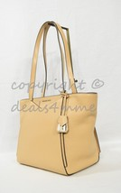 NWT Michael Kors Whitney Small Pebbled Leather Tote Bag. Butternut Brown... - $179.00