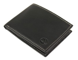 Timberland Men's Genuine Leather Passcase Credit Card Id Billfold Wallet image 2