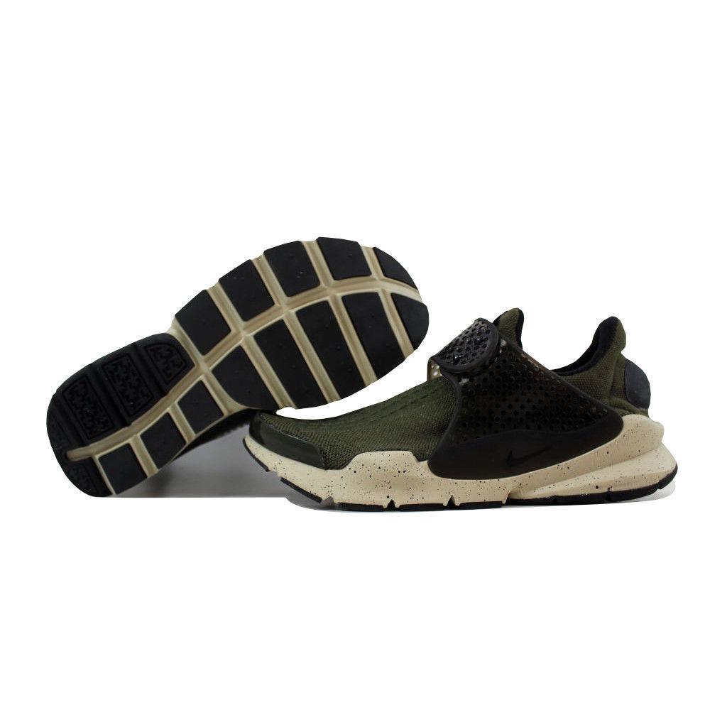 cheap for discount f5aed 4bca3 Nike Sock Dart Cargo KhakiBlack-Rattan 819686-300 Mens SZ 4
