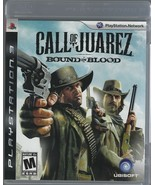 Call Of Juarez Bound In Blood PS3 Playstation 3 Video Game + Book - LN U... - $12.19