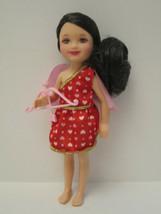 MINT Valentine Cupid Chelsea Doll Brunette 2014l Barbie Little Sister DE... - $8.00