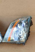 08-13 Cadillac CTS 4 door Sedan Halogen Headlight Lamp Set L&R image 4