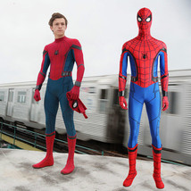 Spider-Man Homecoming Cosplay Costume Peter Parker Jumpsuit Uniform Hall... - $55.43+