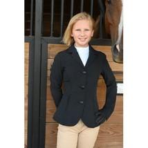 KAKI All Weather Riding Horse Show Blazer Kids Child Youth Size 14 Black image 1
