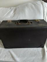 Vintage Jeppesen Captains Pilot Flight Bag Case Original Owner  - $89.09