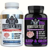 FREE SHIPPING MONSTER TEST AND MONSTER PM COMBO PACK - $71.70