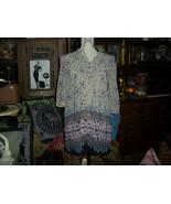 H & M Sassy Lavender Semi Sheer Boho Blouse Size 4 - $14.87