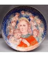 """Edna Hibel 1985 """"The Angel Message"""" Christmas Plate - $9.90"""