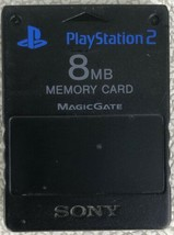 Official OEM Sony Playstation 2 PS2 8MB Magicgate Memory Card SCPH-10020... - $10.73 CAD