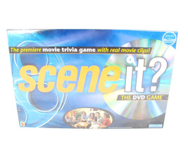 Mattel DVD Game Movie Trivia Real Movie Clips Scene It NEW in Package 2003 - $39.59