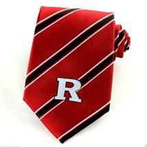 Rutgers Scarlet Knights Mens Necktie University College Logo Red Neck Tie  - $27.67