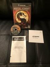 Mortal Kombat: Deception (Nintendo GameCube, 2005), Artwork And Disc - $21.84