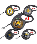 Indiana Pacers Retractable Dog Leash tangle free upto 110 lb pet leash #1 - $22.30+
