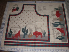 Concord Fabrics Santa Fe Apron Panel by Joan Kessler Fabric Apron Panel - $18.95
