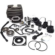 52mm Cylinder Piston Crankshaft Bearing Gasket Oil Seal for Stihl 038 MS380 - $56.15