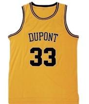Jason Williams Dupont High School Basketball Custom Jersey Gold Any Size image 1