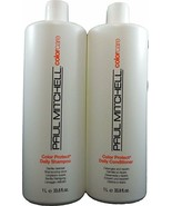 Paul Mitchell Color Protect Shampoo & Conditioner Liters DUO Special! - $39.59